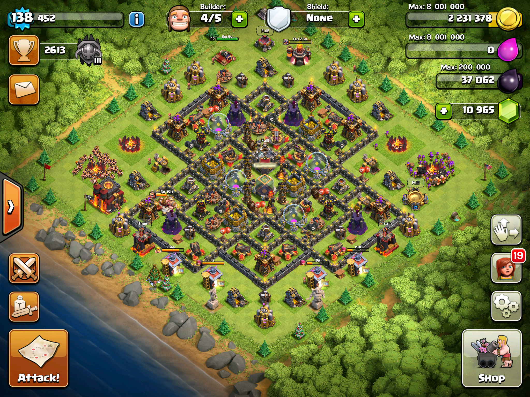 LVL10 TH Base