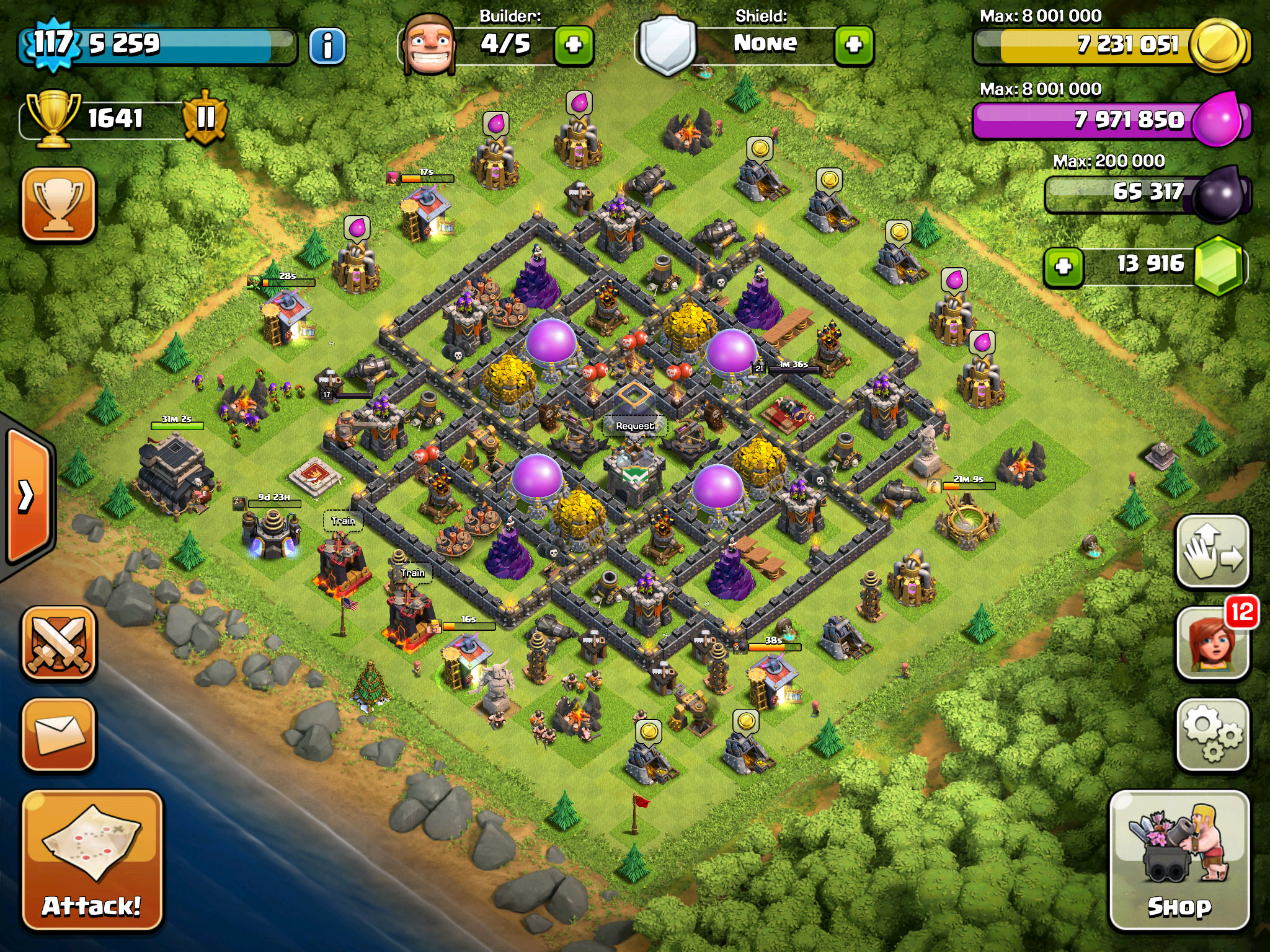 LVL9 TH Base