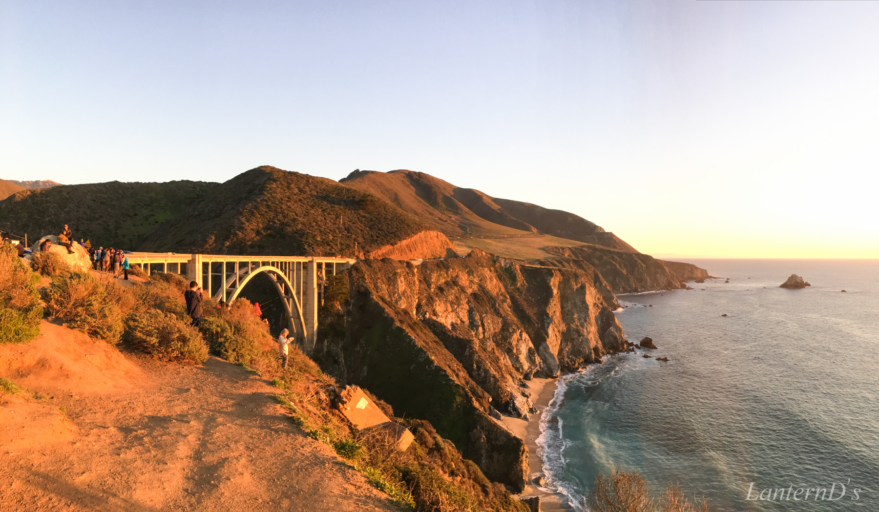 Bixby Creek Bridge 日落
