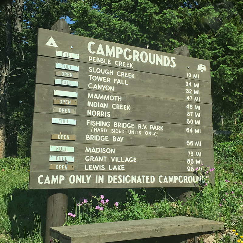 Campground Info